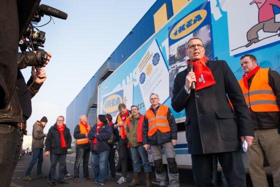 Ikea onderneemt actie tegen sociale dumping in transport