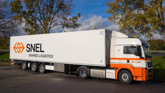 G.Snel wordt Snel Shared Logistics