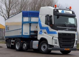 Chauffeurs AB Transport in actie tegen 4-daagse werkweek