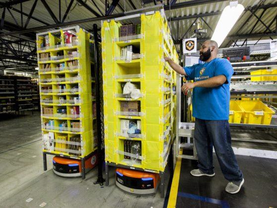 Amazon blijft nieuwe distributiecentra bouwen