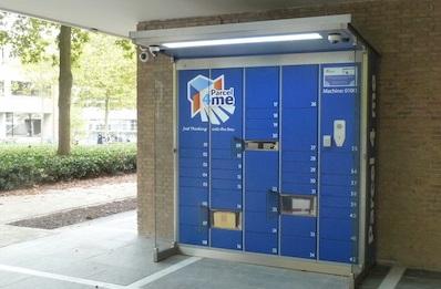 Praxis plaatst pakketautomaten op Tilburgse vestigingen
