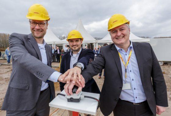 DHL start bouw healthcare campus