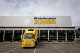 Jumbo verhoogt lonen personeel distributiecentra, acties gaan door