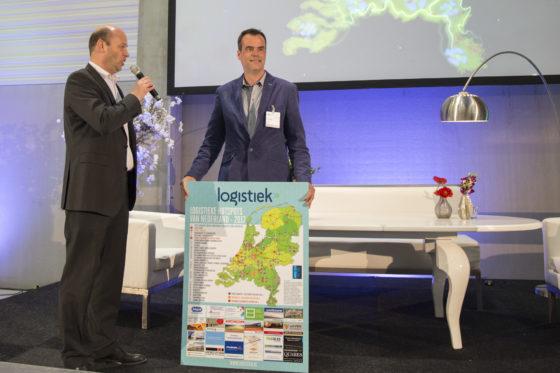 Namens regio Utrecht (Lage Weide)-Nieuwegein en Vianen nam Taco Jansonius (Port of Utrecht) de prijs van Nationale distributie hotspot nummer 1 in ontvangst.