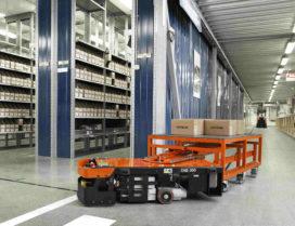 Robots vervangen tienduizenden banen in dc's