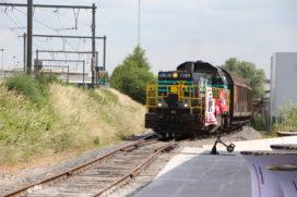 Belgische biertrein haalt 5.000 trucks van de weg