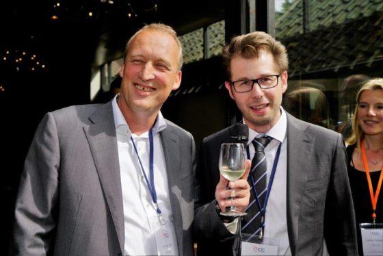 Wout Dullaert grapte met Eric van Dijk over het feit dat hij er volgend jaar voor gaat zorgen dat er wél kandidaten van VU Amsterdam een studiebeurs gaan krijgen.