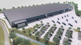 E-commerce dc van Lidl krijgt hoog duurzaamheidsniveau