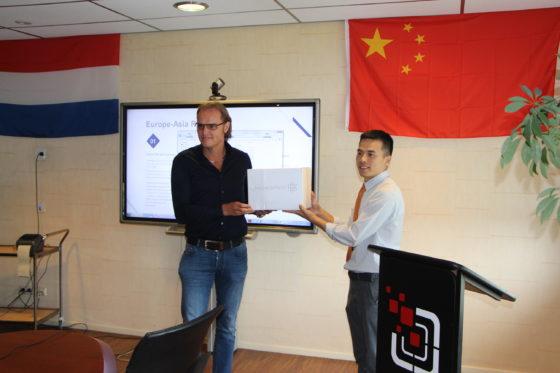 Nic. Oud start crossborder e-commerce avontuur in China