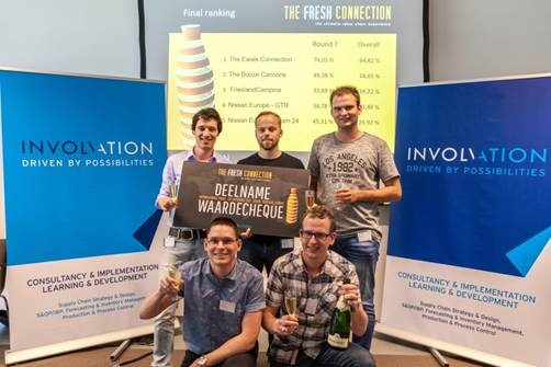 Het Team van Ewals Cargo Care won The Fresh Connection 2017