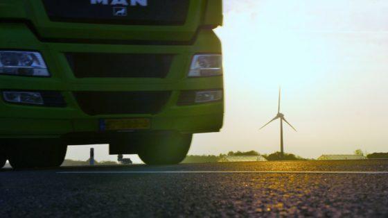 Windenergie voor vrachttransport op waterstof