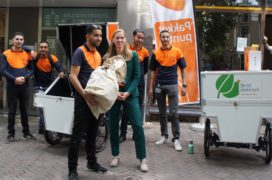 PostNL opent afhaalpunt in Utrechtse fietsenstalling