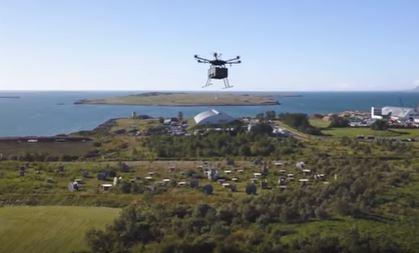 Drone als pakketbezorger: in Reykjavik mag het