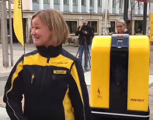 Robot als postbode: DHL/Deutsche Post test het