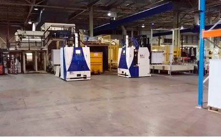 Papierfabriek Sappi automatiseert pallettransport met AGV's