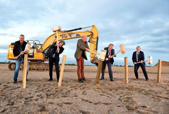 CTVrede en Gam Bakker starten nieuwbouw op bedrijventerrein HoogTij