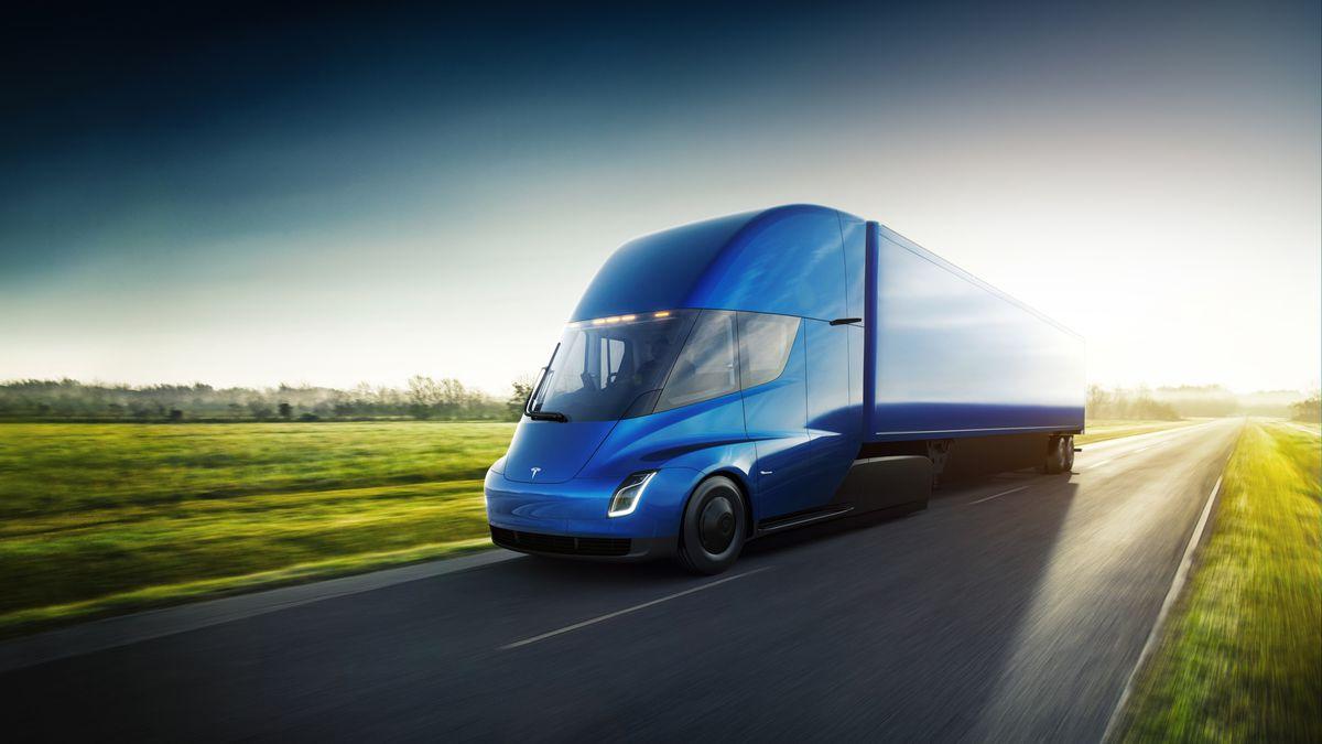 Dit is de Tesla super truck - Logistiek