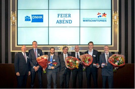SendCloud wint Duits-Nederlandse Prijs voor de Economie