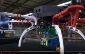 Wereldprimeur:  drone op waterstof voor voorraad tellen