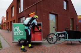 Wehkamp doet last mile per fiets
