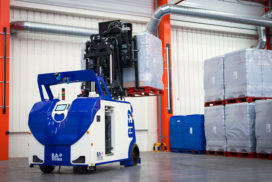 BA Systèmes lanceert nieuwe AGV