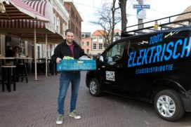 Haagse binnenstad schoon bevoorraad in 2025