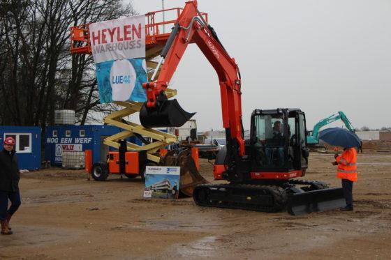Broekman start met Heylen bouw logistieke campus in Venlo