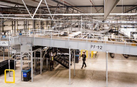 UPS vindt juiste flow in nieuw sorteercentrum in Utrecht