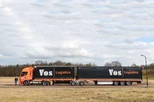 Flink meer omzet en winst voor Vos Logistics in 2018
