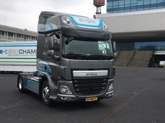 Emissievrij de stad in – truckmerken presenteren opties