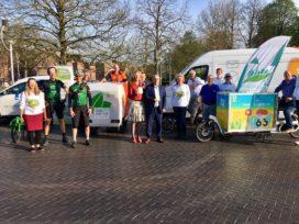 Nijmegen bevoorraadt vier dagen emissievrij in binnenstad