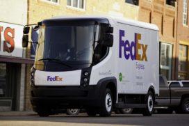 FedEx test bestelbus op waterstof