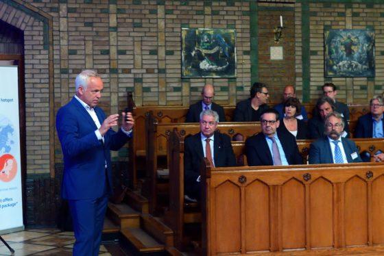 Jan Willem Klinkenberg tijdens Mariadal meeting 2018. Foto: Peter van Trijen