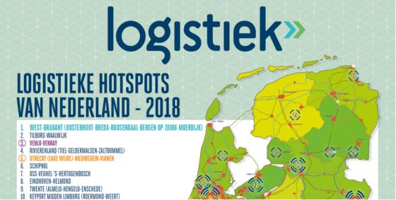 West-Brabant prolongeert Logistieke Hotspot nummer 1 positie