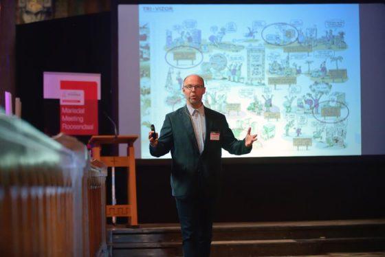 Bart Vannieuwenhuyse tijdens Mariadal meeting 2018. Foto: Peter van Trijen