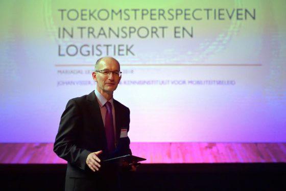 Johan Visser tijdens de Mariadal meeting 2018 in Roosendaal. Foto: Peter van Trijen.