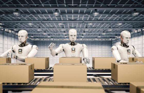 Robots en supercomputers zetten de logistieke wereld op zijn kop