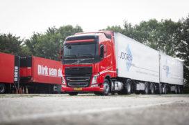 Eerste Volvo LNG-trucks op de weg in Nederland