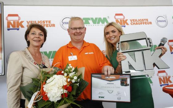 Johannes Ritsma wint eerste NK Veiligste Chauffeur