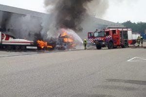 Brand treft Jan Linders en C. van Heezik