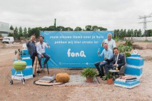 fonQ start bouw nieuw distributiecentrum