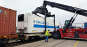 HSF test intermodaal vers transport