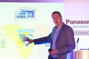 Panasonic wil Europa veroveren met dunste robuuste handheld