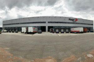 Ploeger neemt BREEAM Outstanding warehouse in gebruik