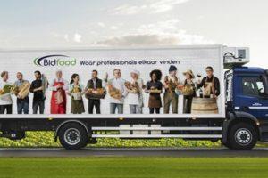 Bidfood moet ontslagen chauffeurs half miljoen euro uitbetalen