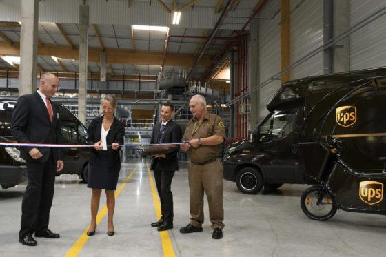 UPS vergroot slagkracht in Europa met nieuwe hub