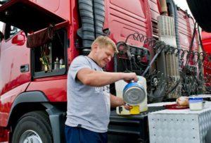 vrachtwagenchauffeurs