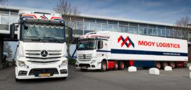 Doorstart van Mooy Logistics op handen