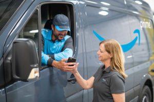 Amazon bestelt 20.000 Mercedes bussen voor nieuwe last mile service