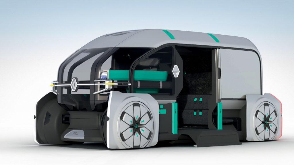 stedelijke distributie Renault-EZ-Pro